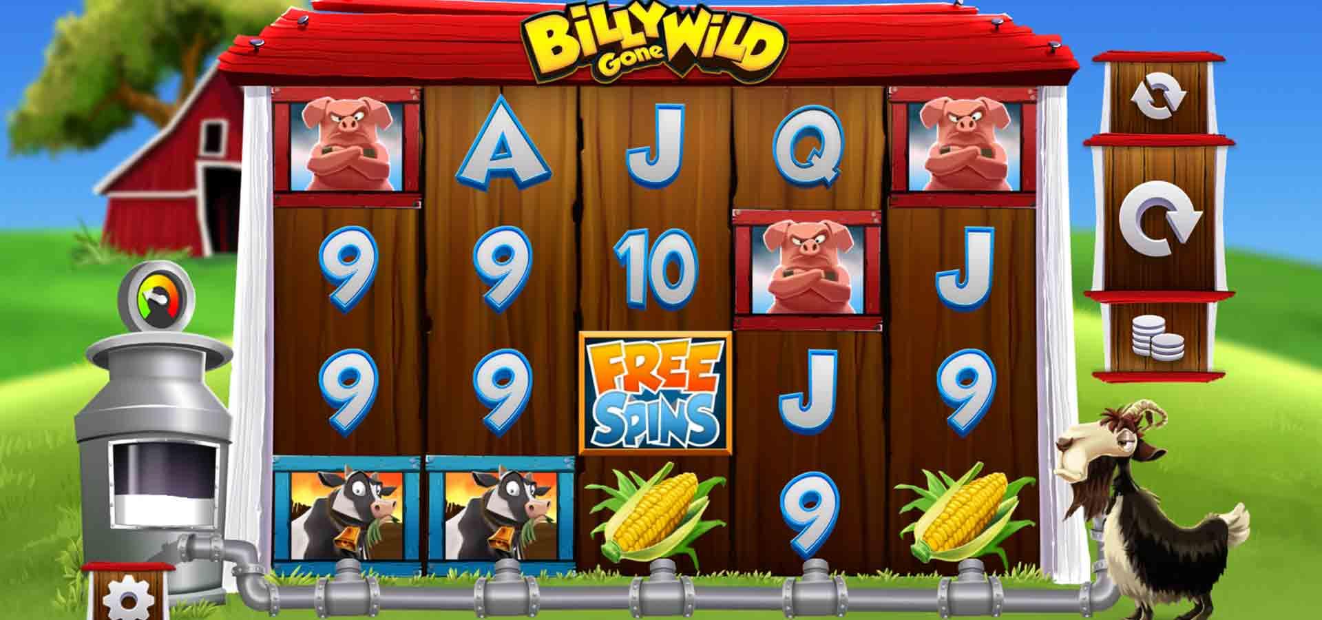 Billy Gone Wild Slot Game