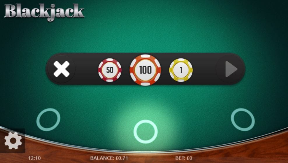 Blackjack Gameplay