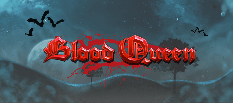 blood queen slots game logo