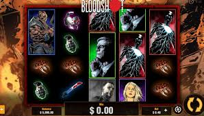 Bloodshot slots gameplay