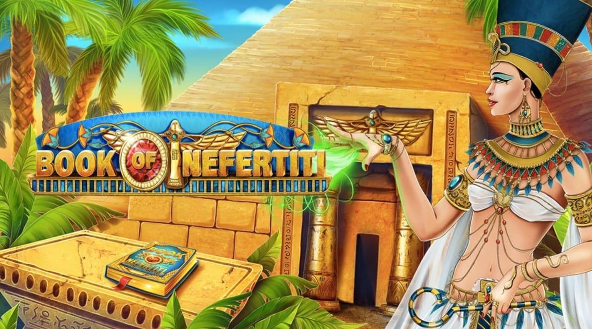 Book of Nefertiti Slot Logo Wizard Slots