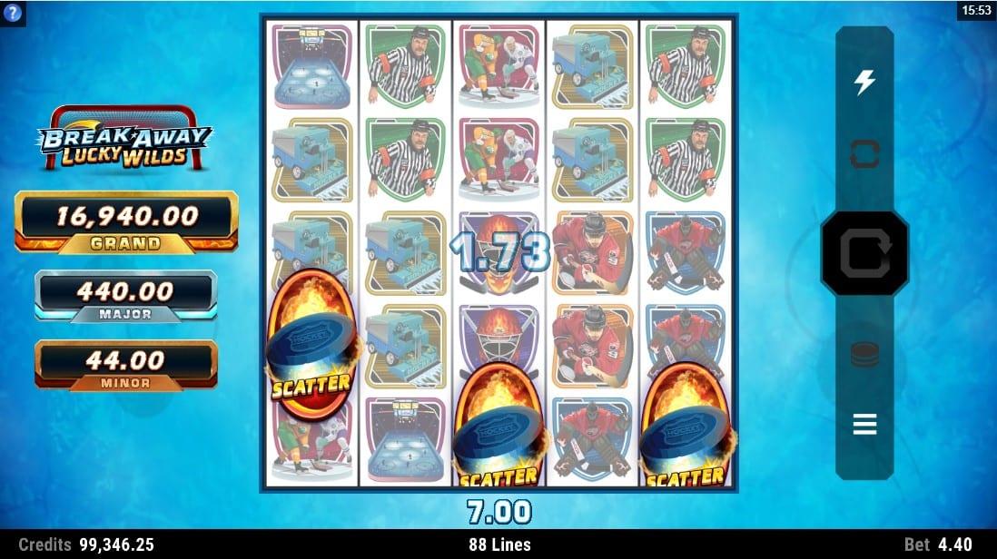 Break Away Lucky Wilds Slots Online