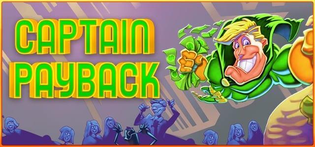 Captain Payback Slot Game Logo