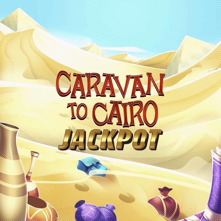 Caravan to Cairo Jackpot Slot Logo