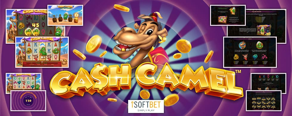 cash camel slots game logo