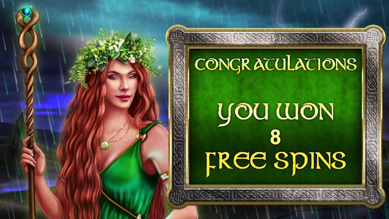 Celtic Goddess Slot Bonus