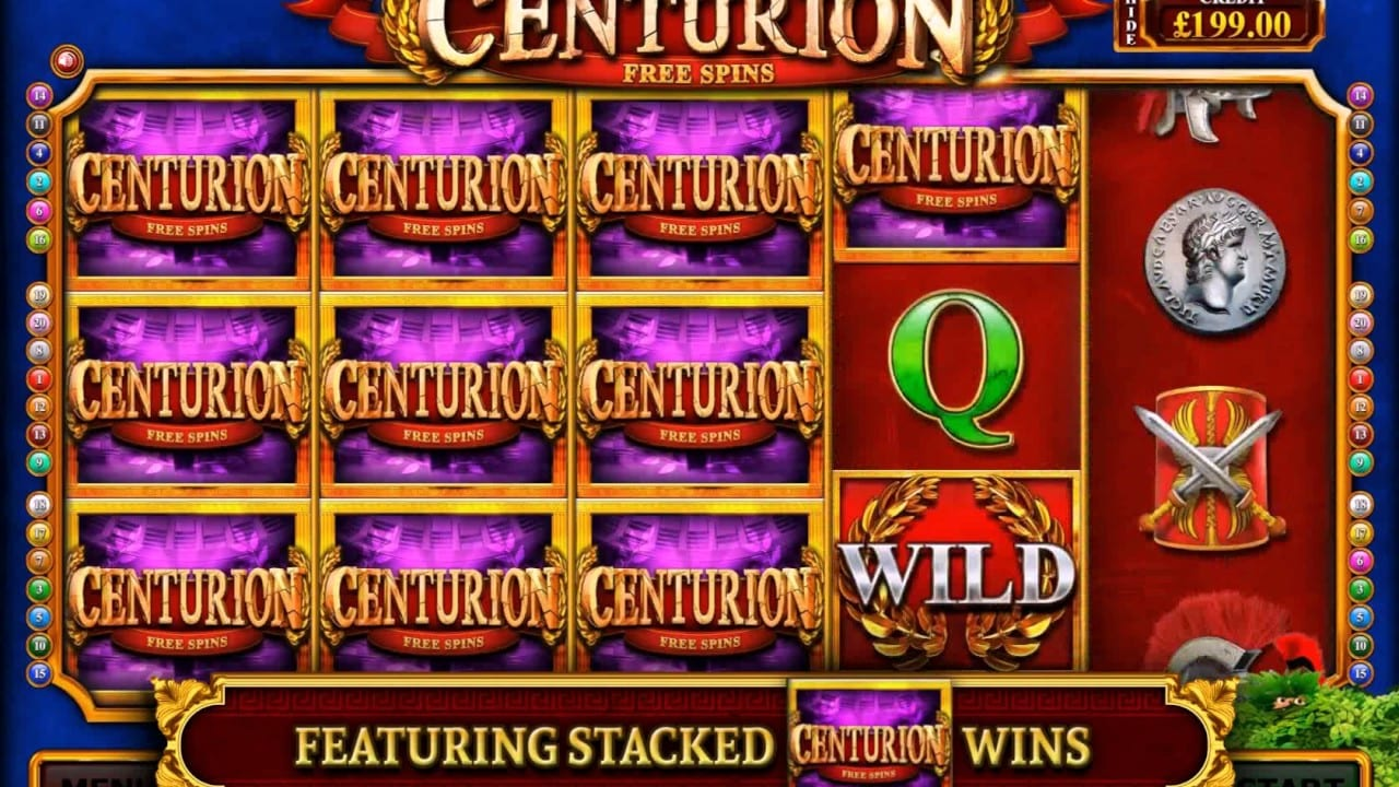 Centurion Free SPins Gameplay
