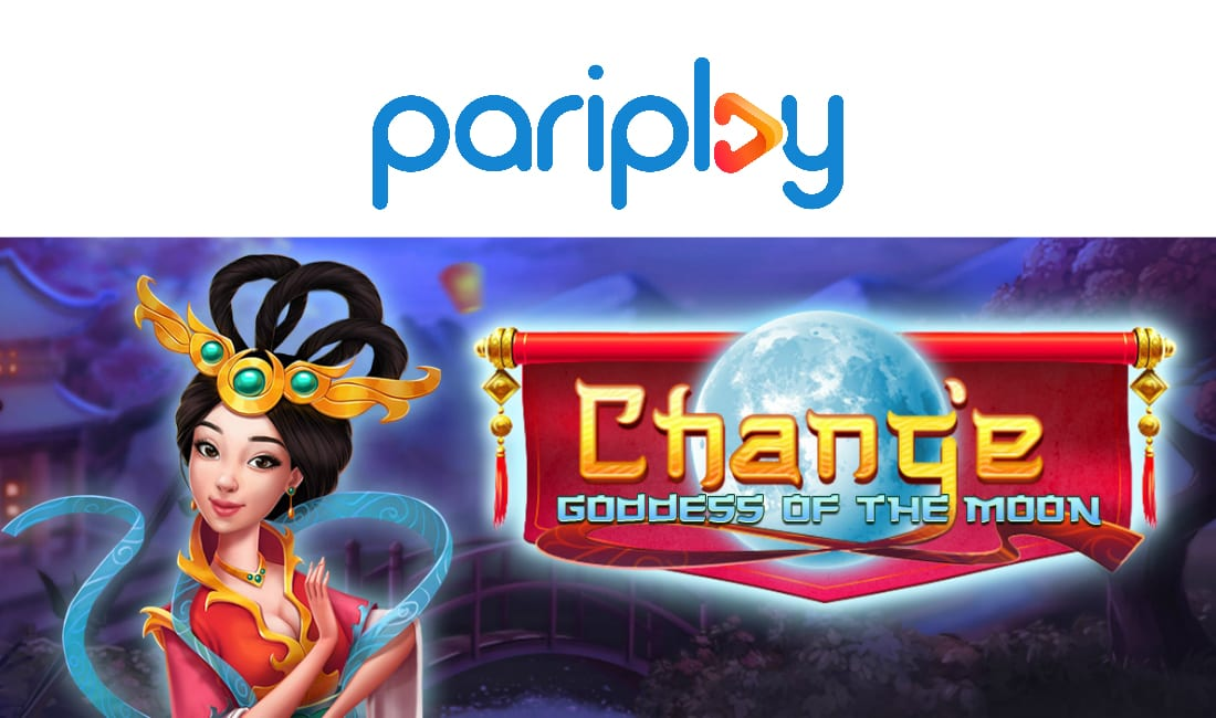 chang'e - goddess of the moon slots game logo