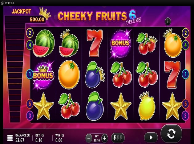Cheeky Fruits 6 Deluxe Slots