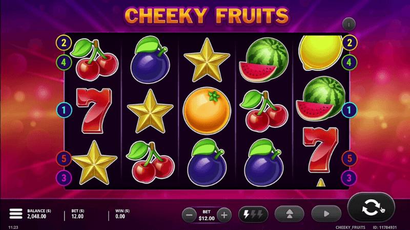 Cheeky Fruits Free Slots