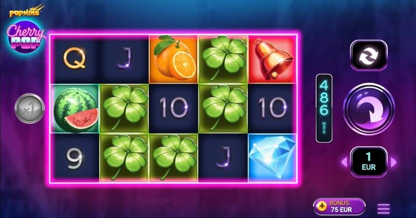 CherryPop Slot Game Play