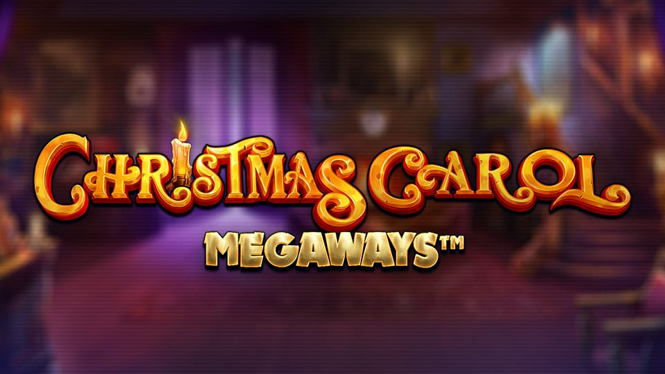 Christmas Carol Megaways Slot Logo Wizard Slots