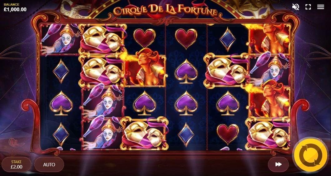 Cirque De La Fortune FreeSlots