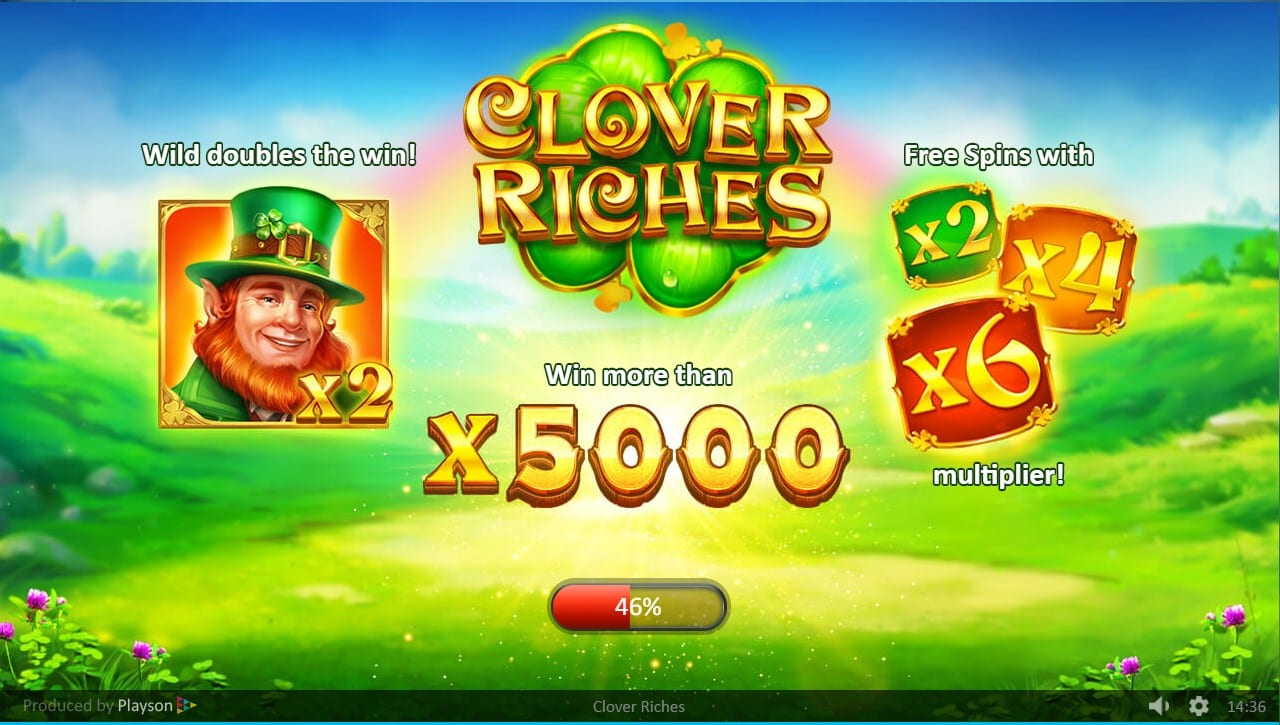 Clover Riches Free Spins Slots
