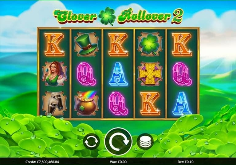 Clover Rollover 2 Slot Game Play