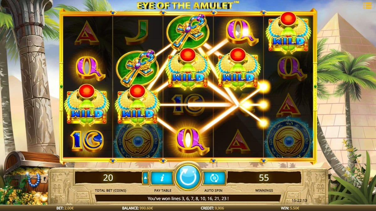 Eye of the Amulet gameplay 2
