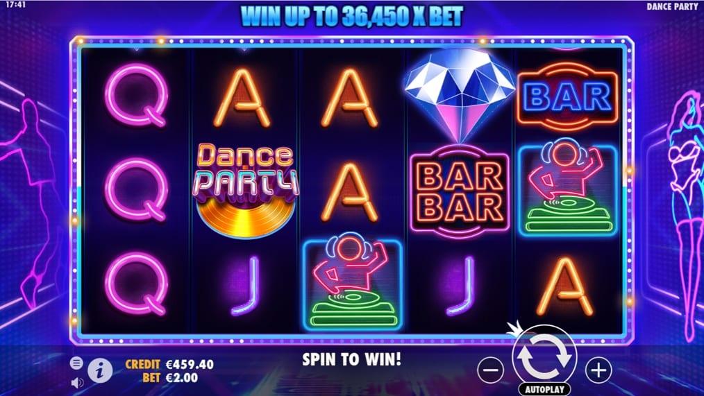 Dance Party Slots Online