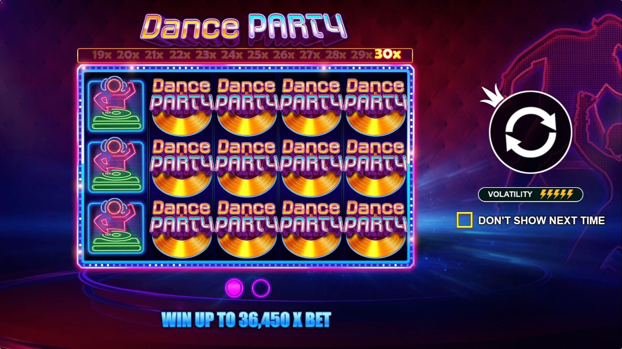Dance Party Bonus Features