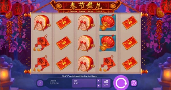 Dancing Dragon Spring Festival gameplay