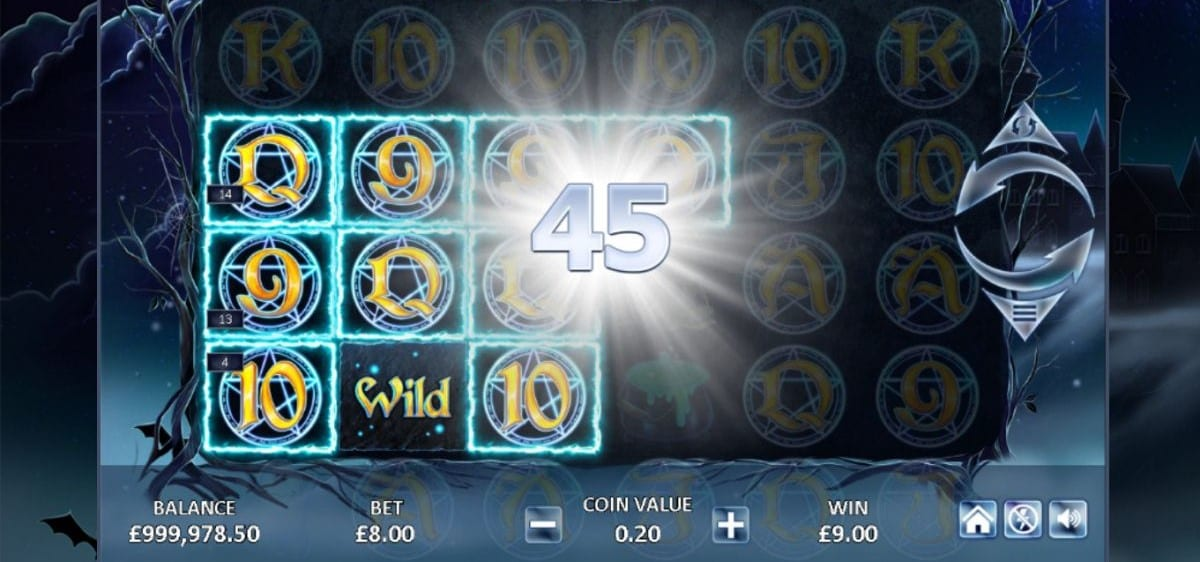 Dark Spells Slot Game Play