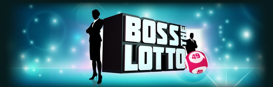 Boss the Lotto slots game logo