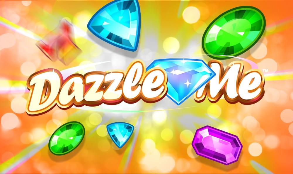 dazzle me slots game logo