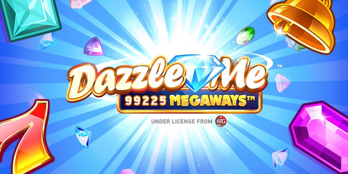 Dazzle Me Megaways Slot Logo Wizard Slots