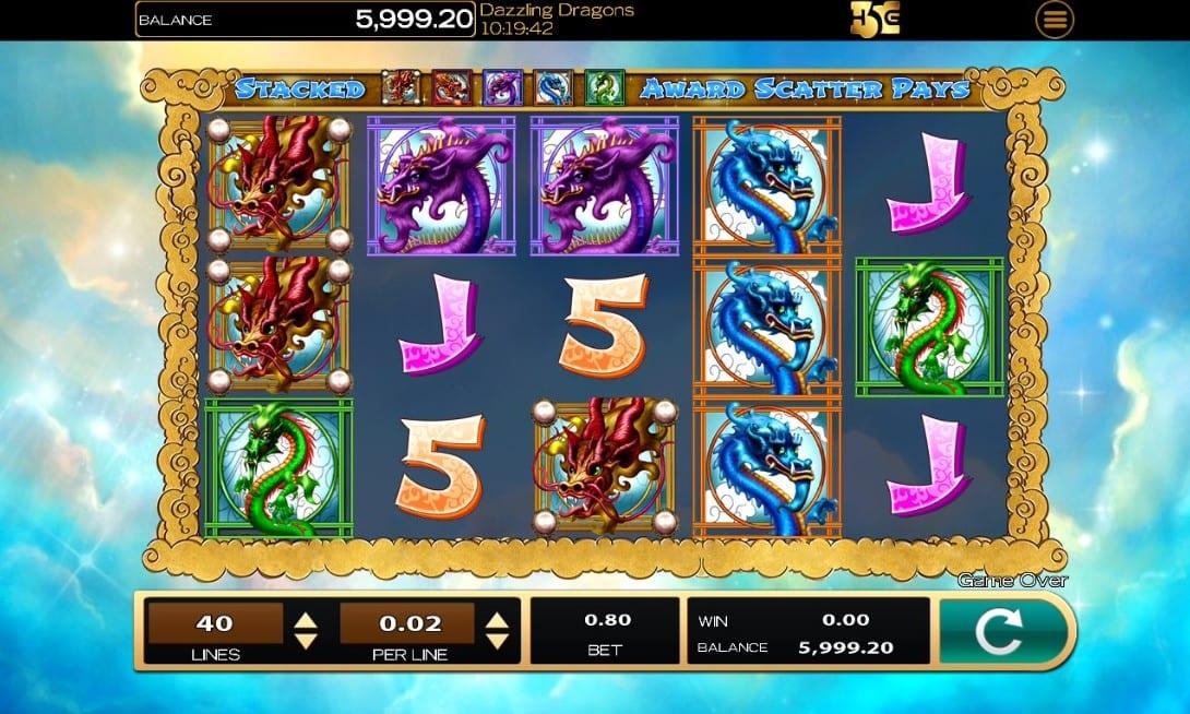 Dazzling Dragons Slots Games