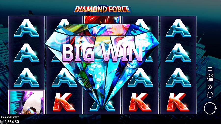 Diamond Force Slot Big Win