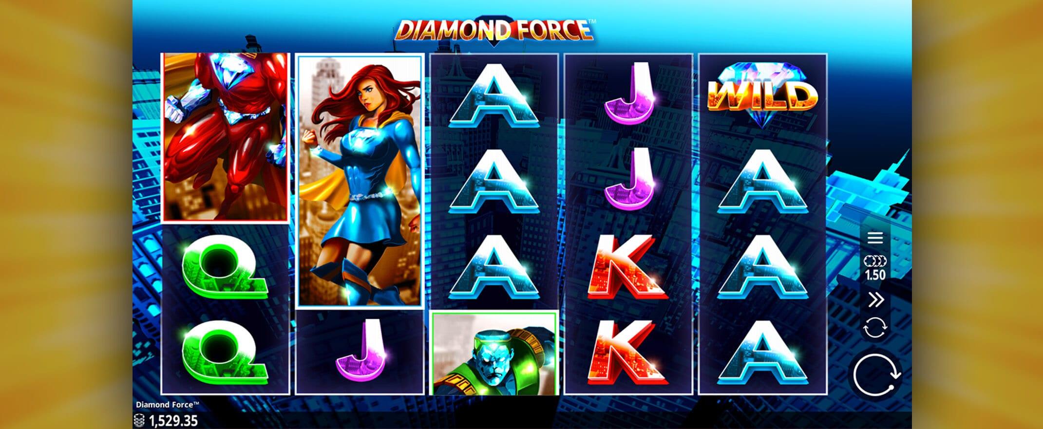 Diamond Force Online Slots