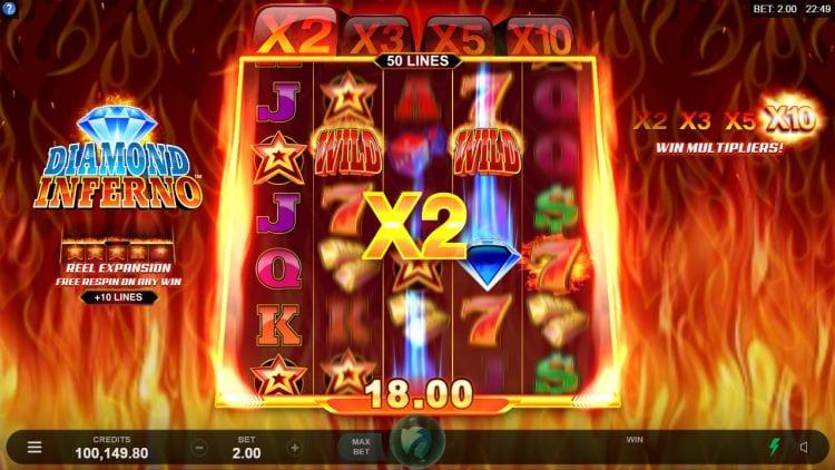 Diamond Inferno Slots