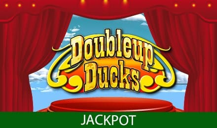 Doubleup Ducks Jackpot Slots game logo