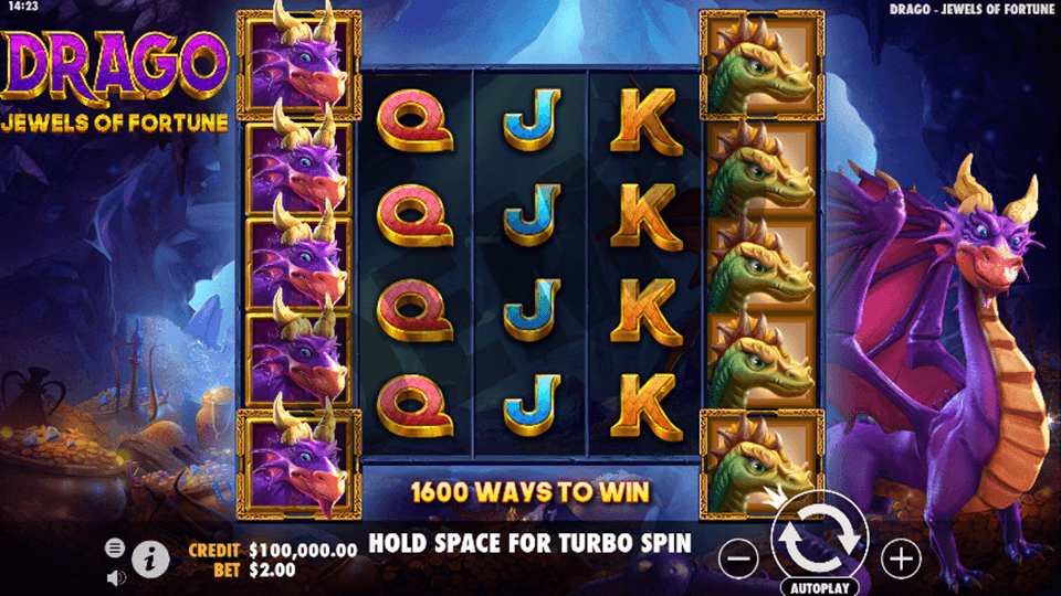 Drago: Jewels of Fortune Slot Game