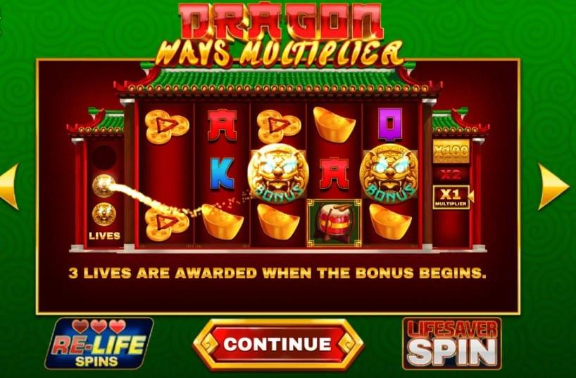Dragon Ways Multiplier Free Slots