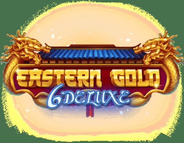 Eastern Gold Deluxe Slot Logo Wizard Slots