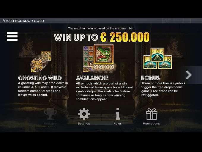 Ecuador Gold Slot Wizard Slots