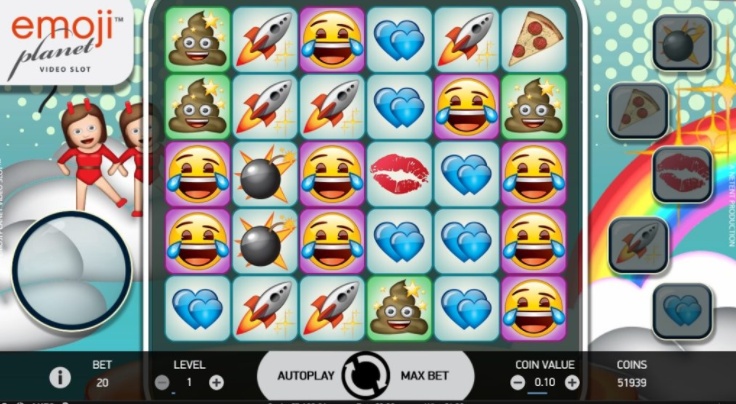 Emoji Planet Online Slot Game