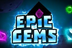 Epic Gems online slots game logo