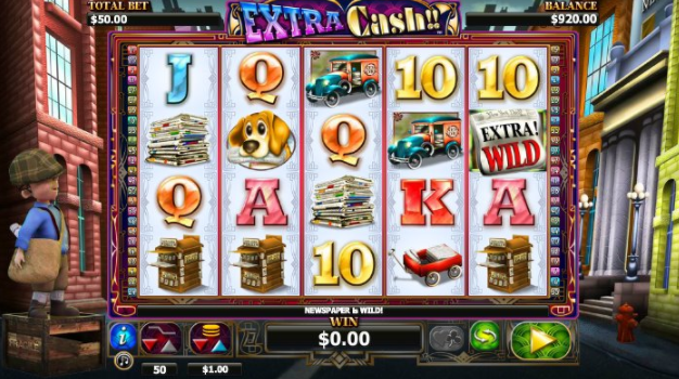 Extra Cash Slots gameplay