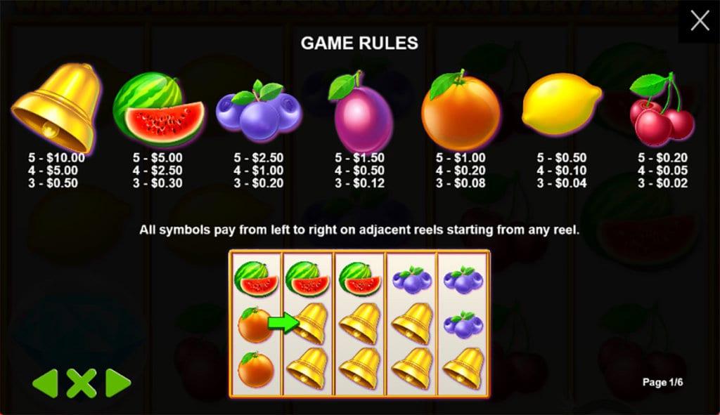 Extra Juicy Slot Symbols