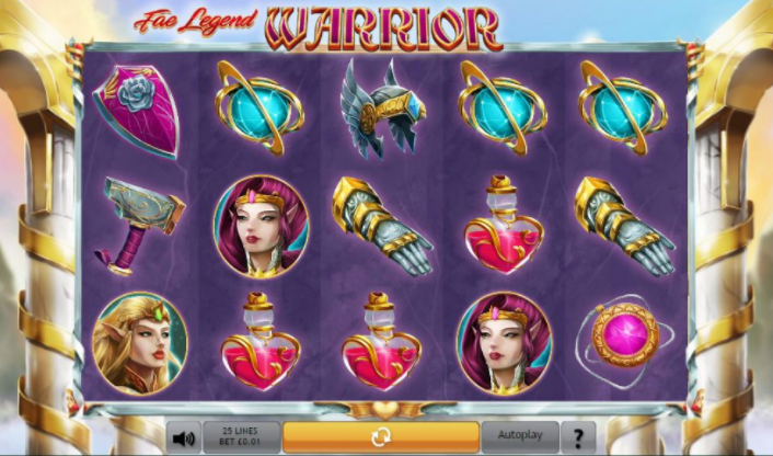 Fae Legend Warrior Slots gameplay