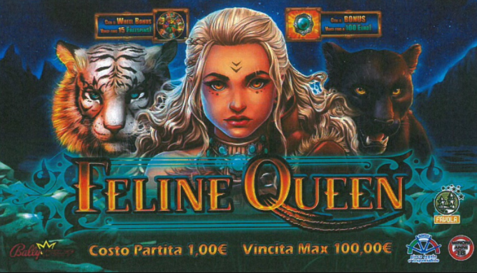 Feline Queen title page
