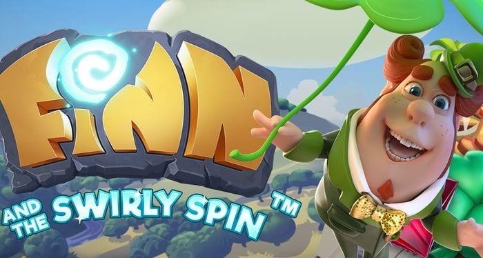 Finn and the Swirly Spinn online slots game logo