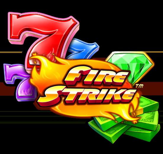 Fire Strike Slot Logo Wizard Slots