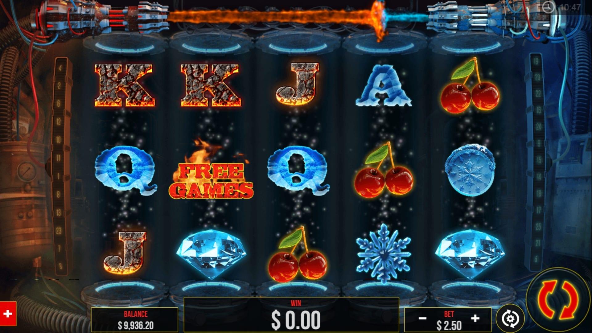Fire Vs. Ice Slots Wizard Slots