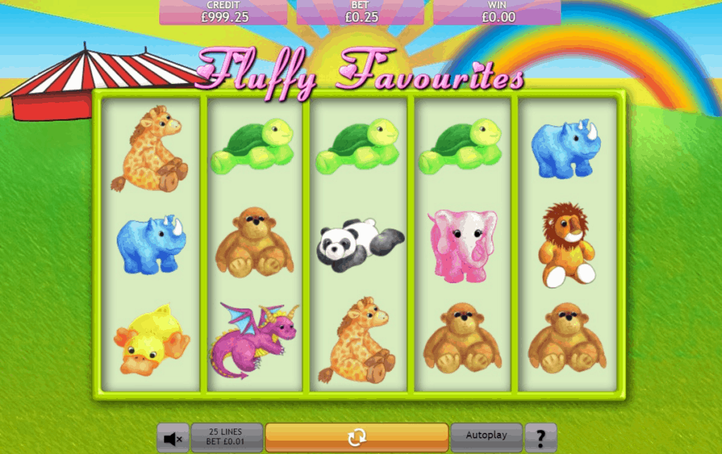 fluffy favourites Slot Online