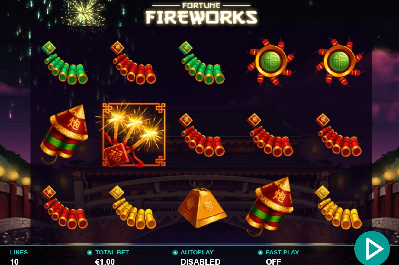 Fortune Fireworks Slots Gameplay