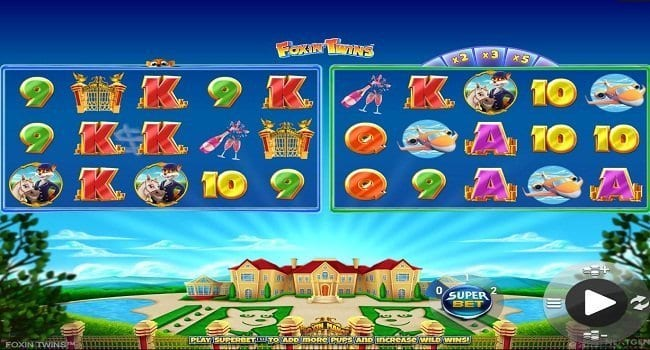 Foxin Twins Slots Game