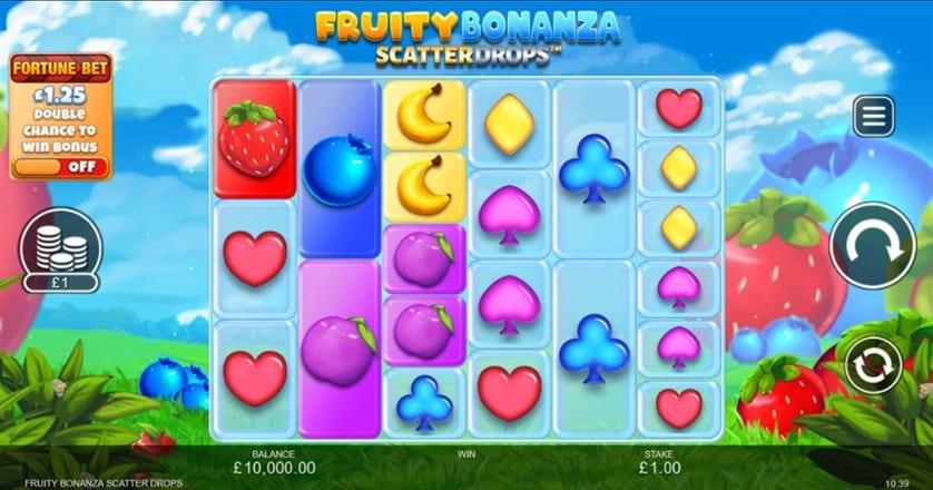 Fruity Bonanza Scatter Drops Slot Gampelay