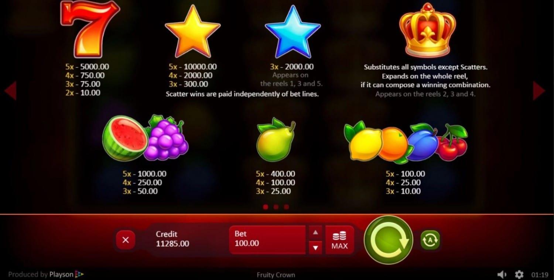Fruity Crown Slot Online